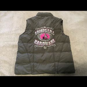 Cowgirl Hardware puffy vest